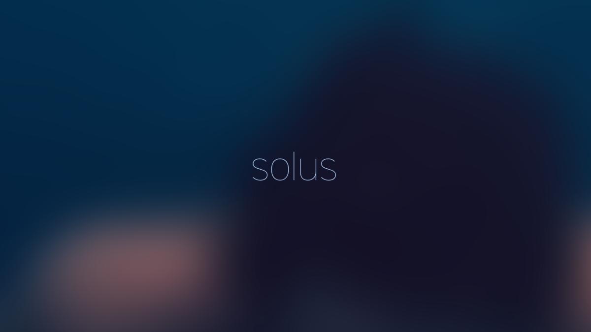 Wallpaper Linux Solus 1.2.x