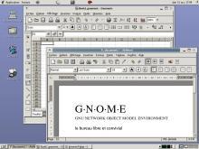 GNOME 2.6 avec les outils GNOME Office